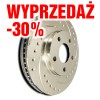 -30% tarcza hamulcowa SP Performance Cross Drilled & Slotted F06-250