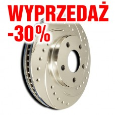 -30% tarcza hamulcowa SP Performance Cross Drilled & Slotted F26-45085